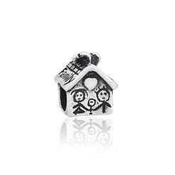 12400097 - CHARM CASITA FAMILIAR PLATA BOUMEX .925
