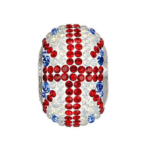 5221913 - BECHARMED CRYSTAL FLAG UK SWAROVSKI - METAL RODINADO