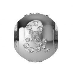 5419089 - BECHARMED LETTER METAL BEAD & SWAROVSKI
