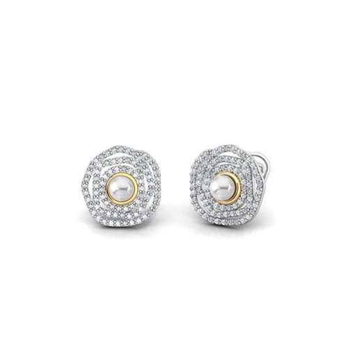 7LIF003E - ARETES BOHEMME WAY OF LIFE PLATA .925
